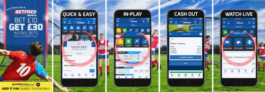Betfred Mobile App - A Step By Step Guide
