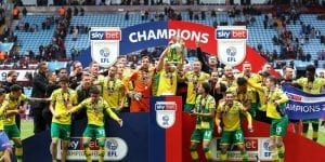 norwich getting promoted