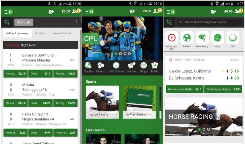 Unibet Mobile App