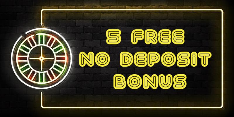 £5 no deposit casino bonus