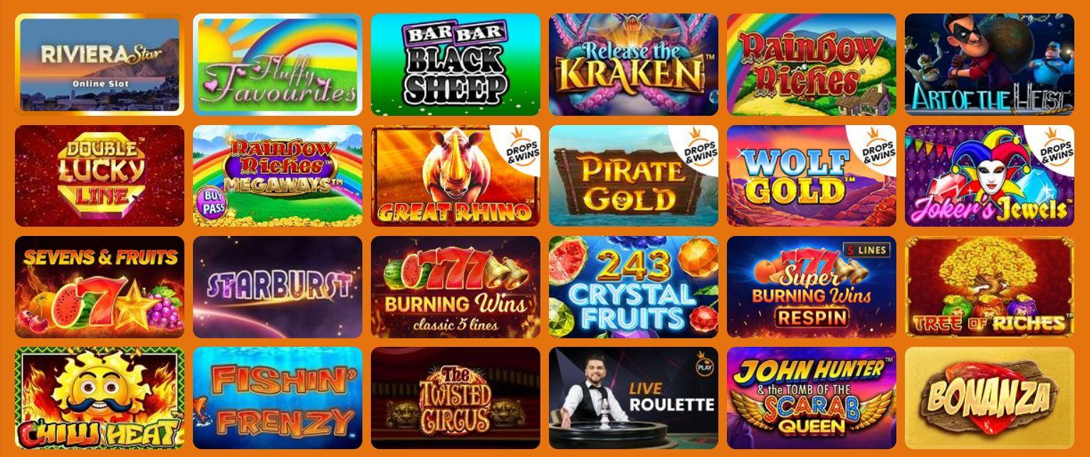 Slots And Games Bonus Code