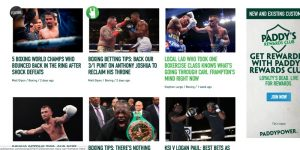 Paddy Power Boxing