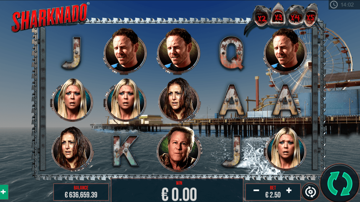 Sharknado Slot Review