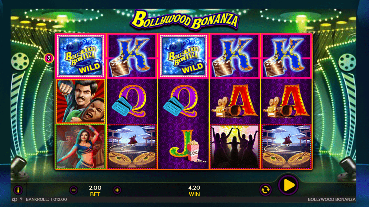Bollywood Bonanza Slot Review