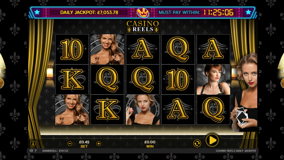 Casino Reels Slot Review – RTP, Features & Bonuses