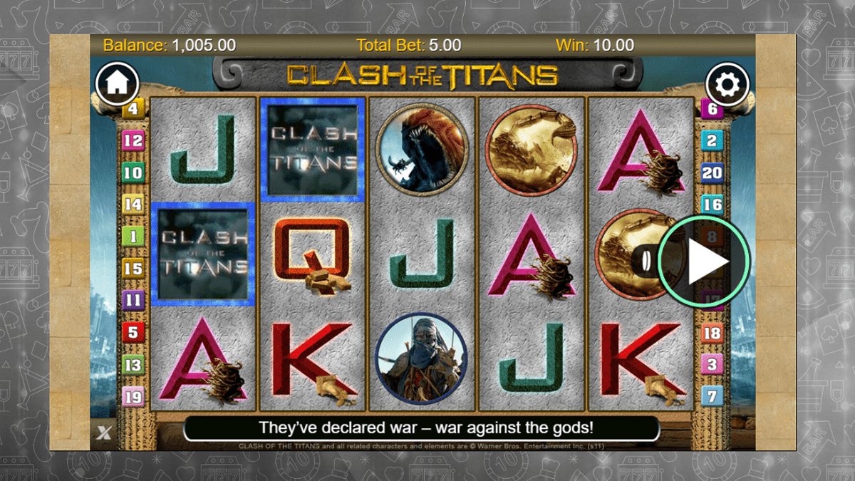 Clash Of The Titans Slot Review