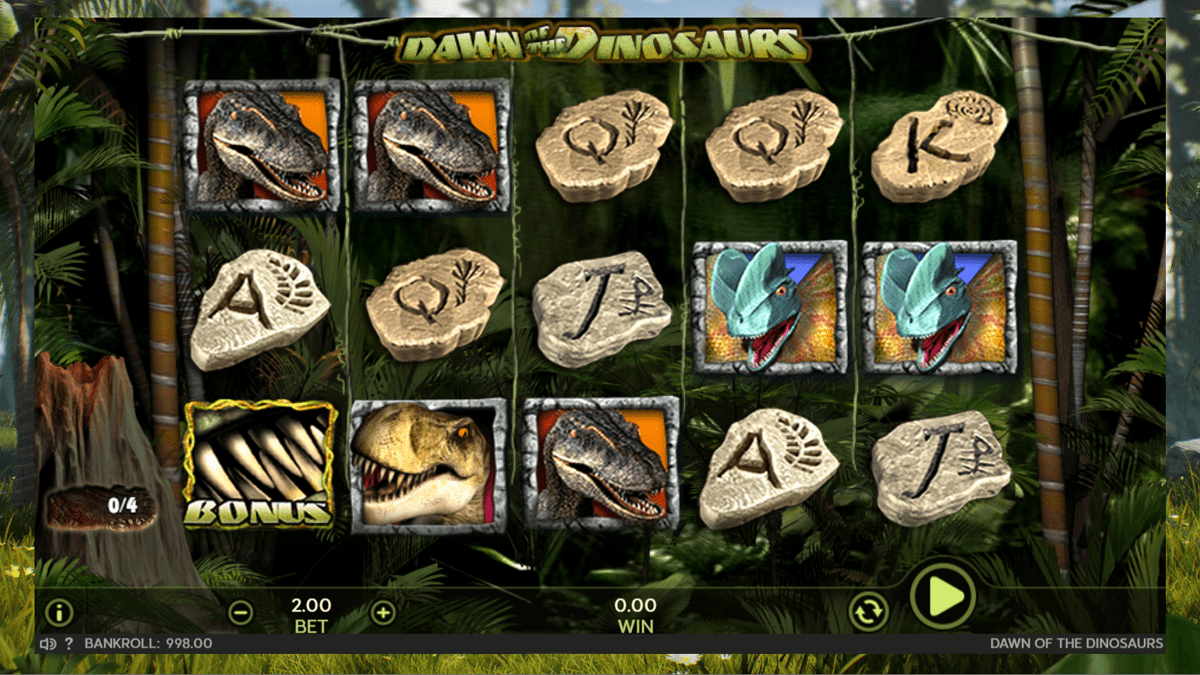 Dawn of the Dinosaurs Slot Review – RTP, Features & Bonuses