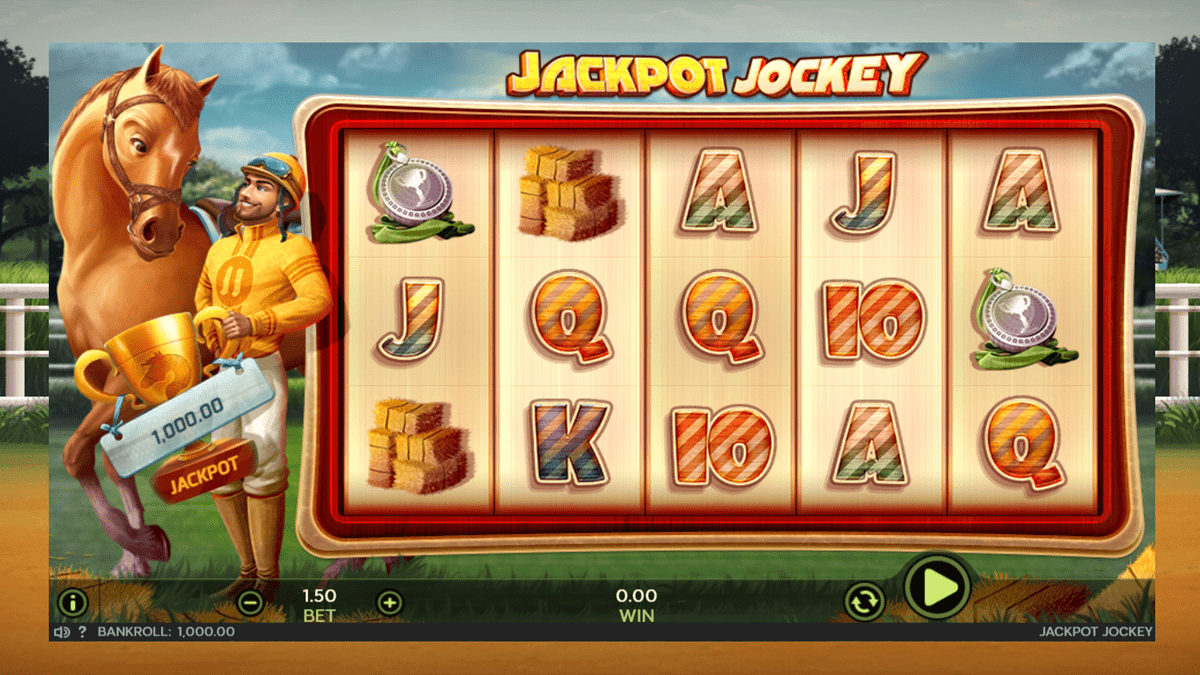 Jackpot Jockey Slot Review – RTP, Features & Bonuses