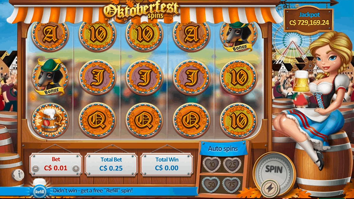 Oktoberfest Spins Slot Review – RTP, Features & Bonuses
