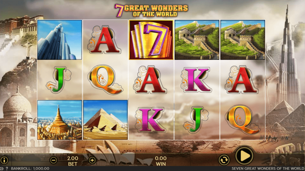 7 Great Wonders of the World Slot Review – RTP, Features & Bonuses