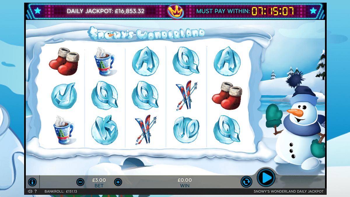 Snowys Wonderland Slot Review – RTP, Features & Bonuses