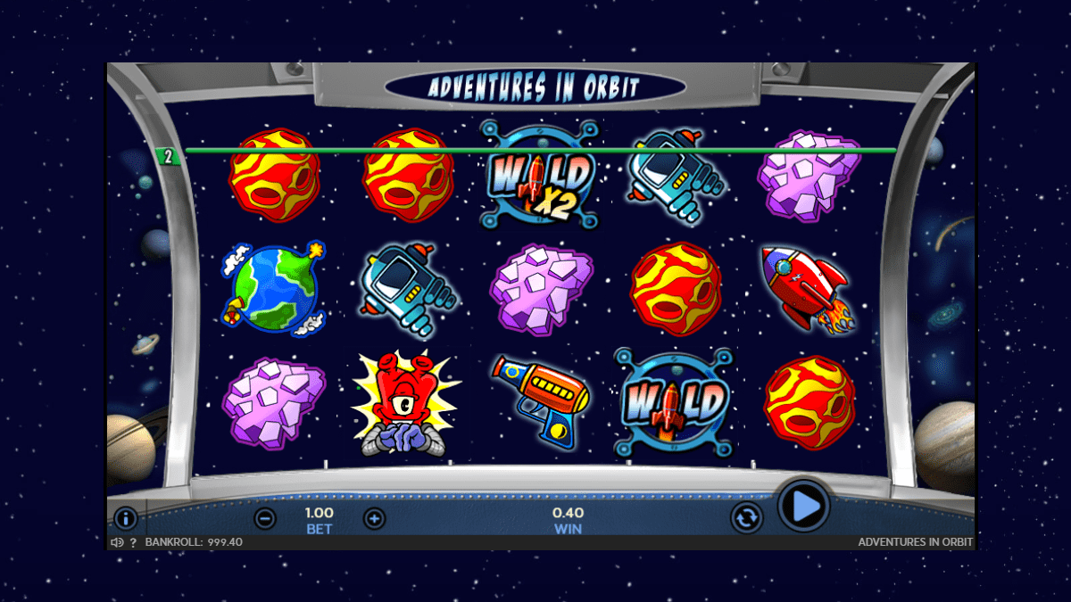 Adventures In Orbit Slot Review