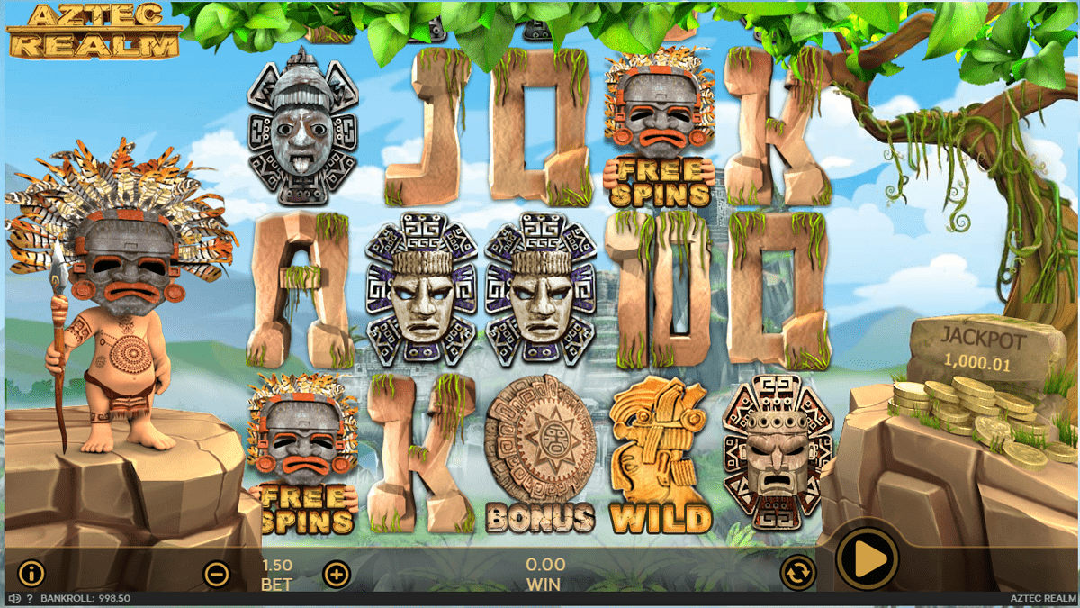 Aztec Realm Slot Review – RTP, Features & Bonuses