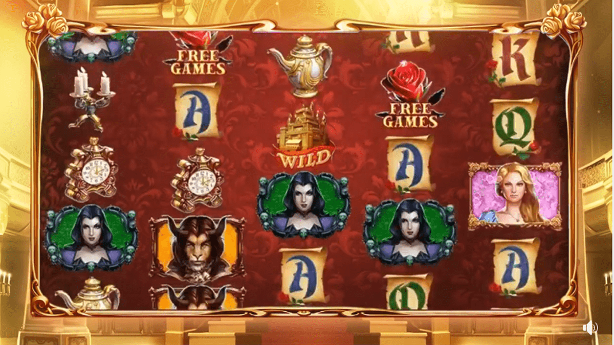 belle and the beast slot review