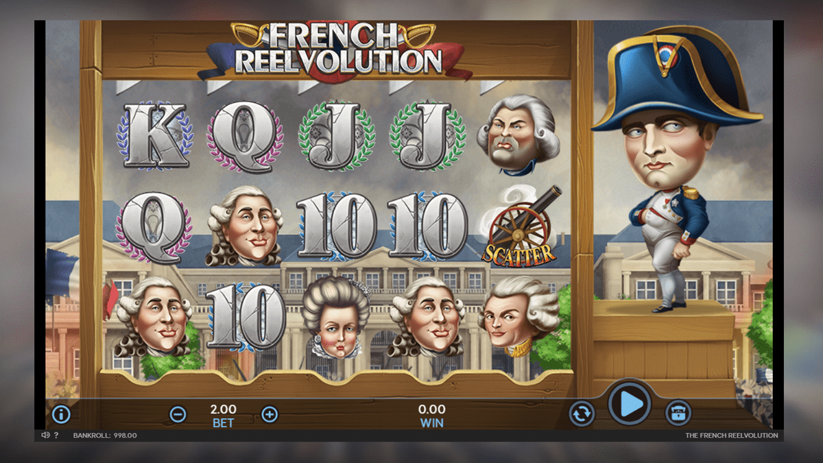 french reevolution slot screenshot