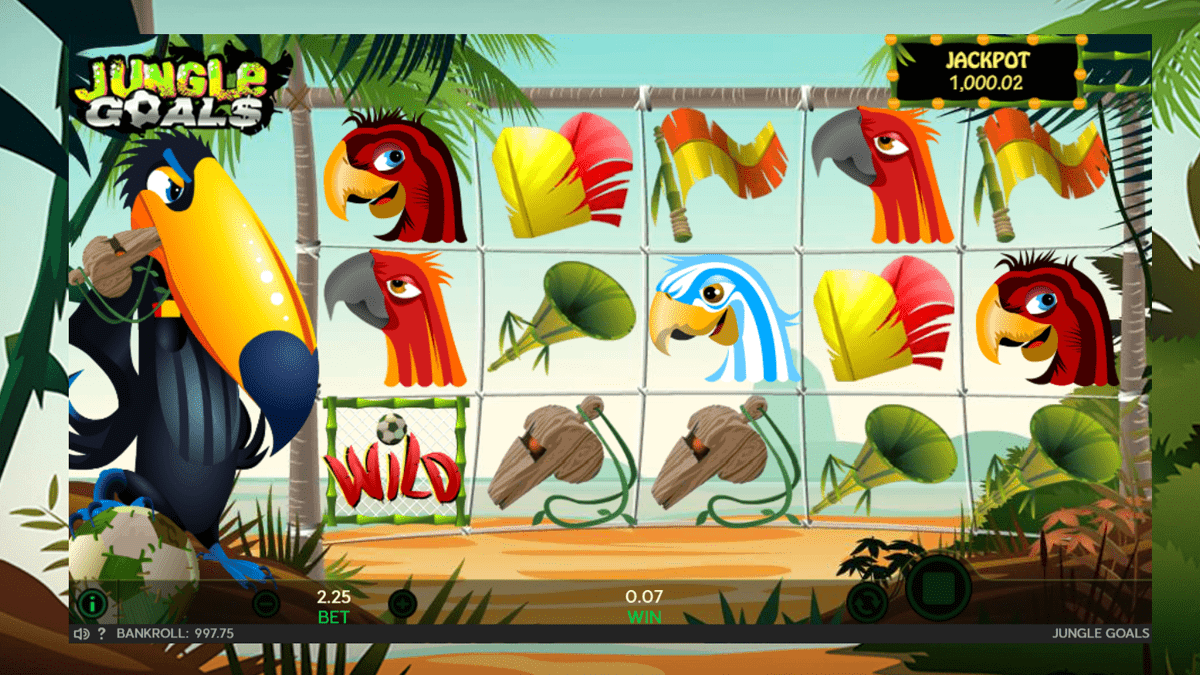 Jungle Goals Slot Review – RTP, Features & Bonuses