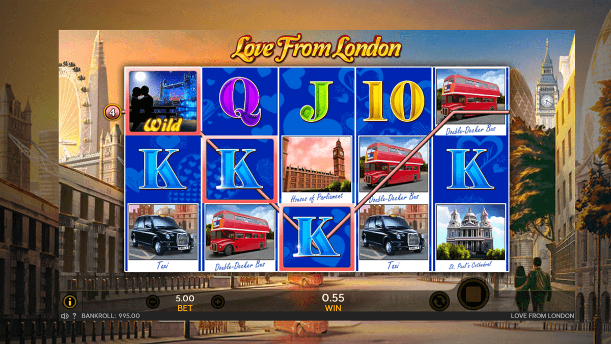 Love From London Slot Review – RTP, Features & Bonuses