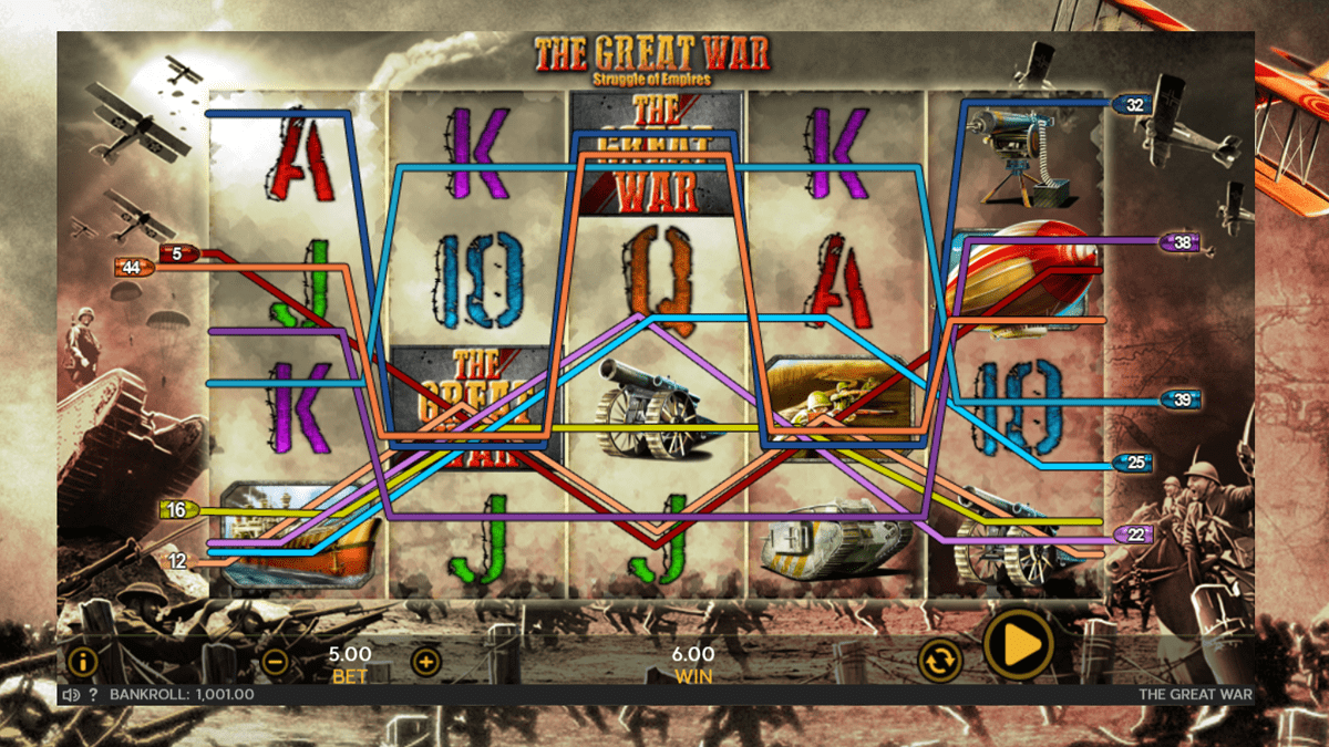 The Great War Slot Review – RTP, Features & Bonuses