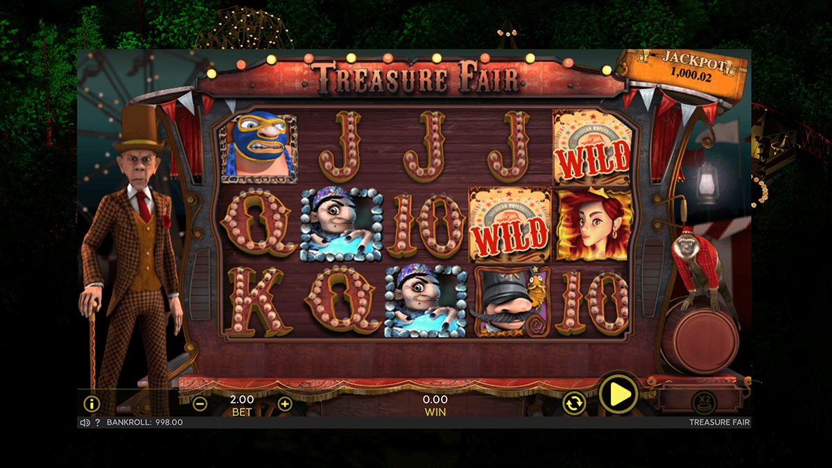 treasure fair slot screenshot