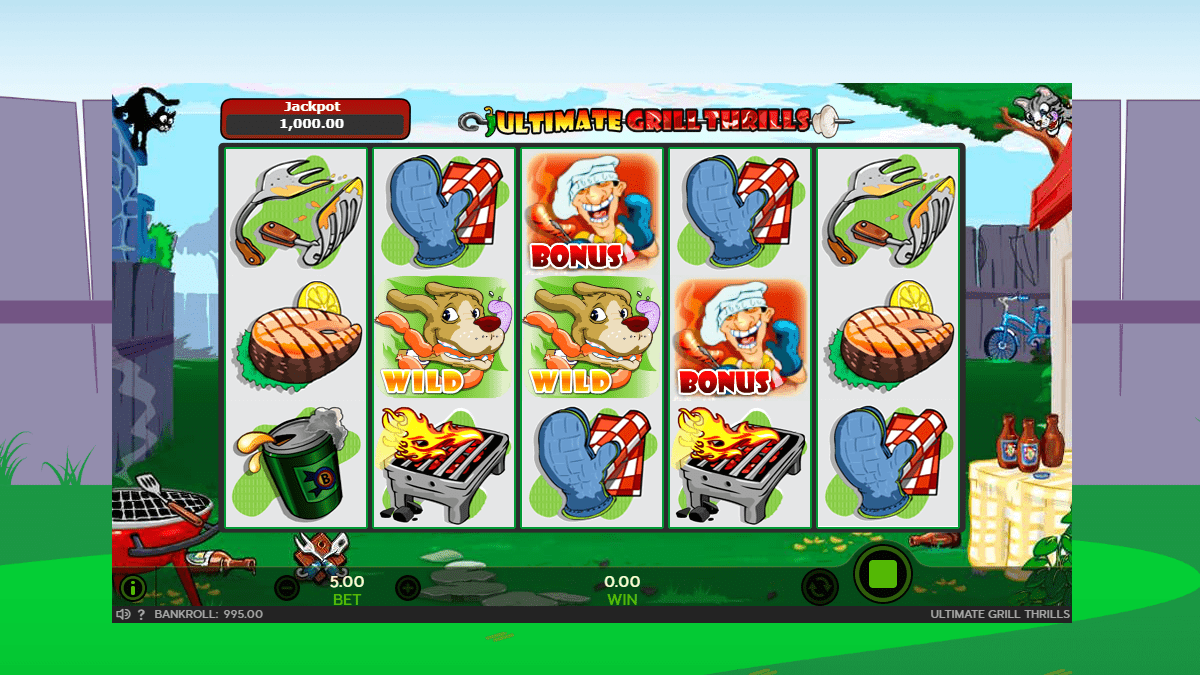 Ultimate Grill Thrills Slot Review – RTP, Features & Bonuses