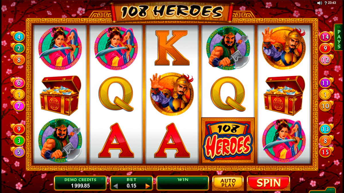 108 Heroes Slot Review
