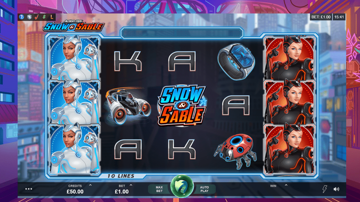 Action Ops: Snow & Sable Slot Review – RTP, Features & Bonuses