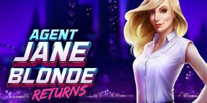 Agent Jane Blonde Returns Slot Review – RTP, Features & Bonuses