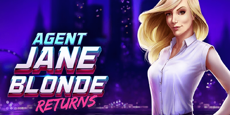 Agent Jane Blonde Returns Slot Review – RTP, Features & Bonuses