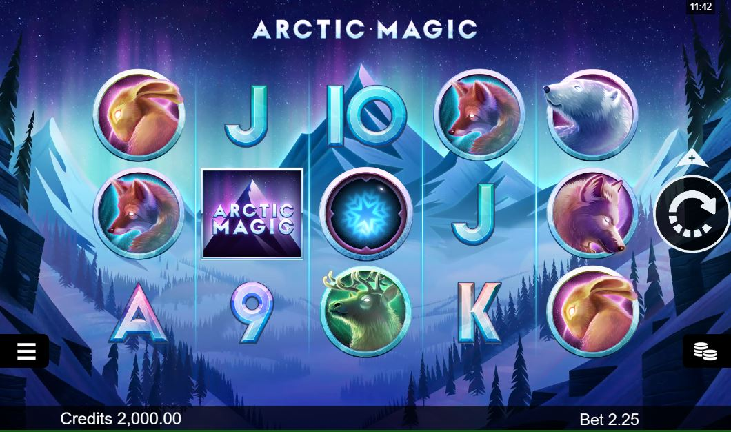 Arctic Magic Slot Gameplay