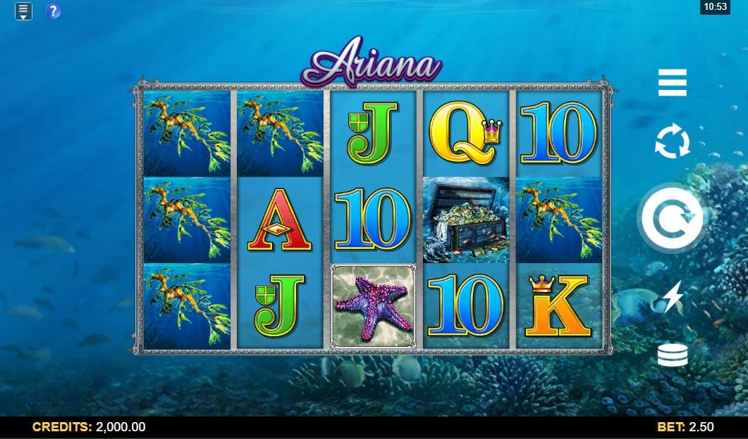Ariana Slot Gameplay