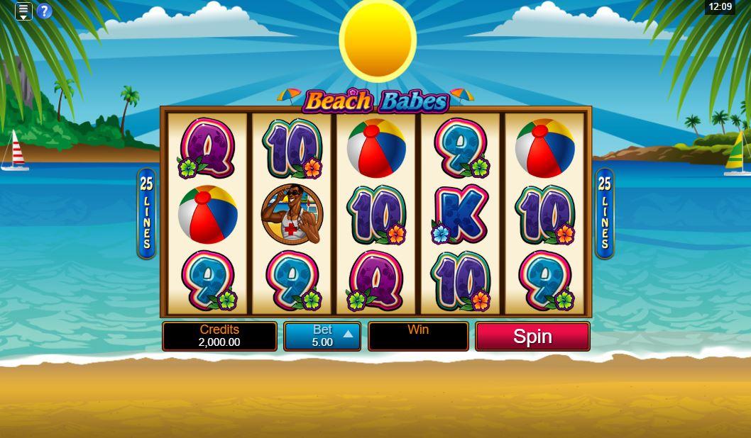 Beach Babes Slot Gameplay