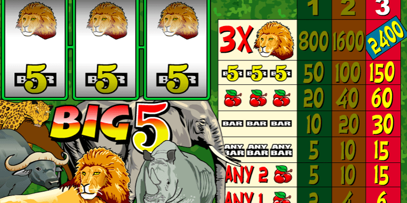 Big 5 Slot Review – RTP, Features & Bonuses