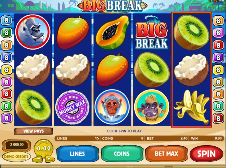 Big Break Slot Gameplay