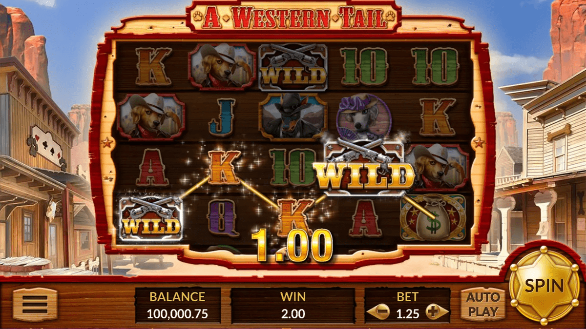 A Western Tail Slot Review – RTP, Features & Bonuses
