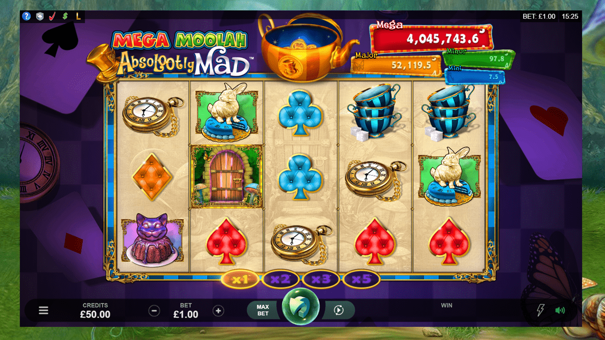 Absolootly Mad Mega Moolah Slot Review – RTP, Features & Bonuses