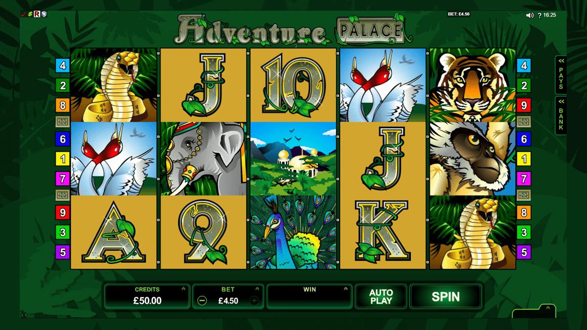 adventure palace slot screen shot