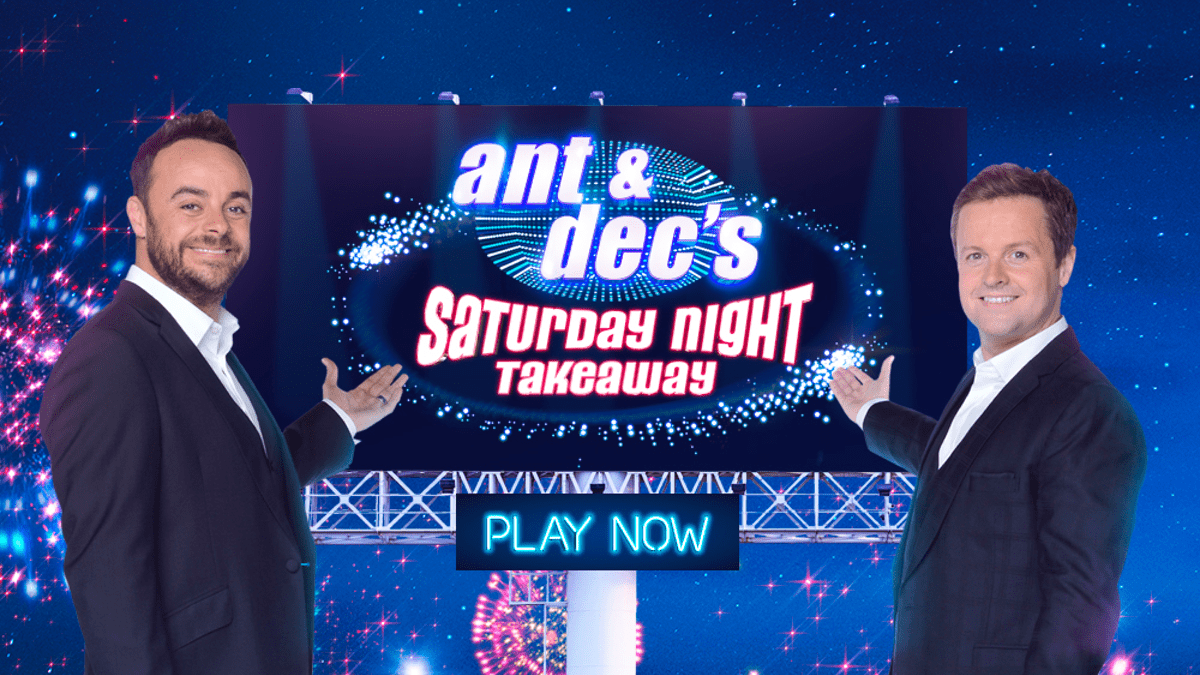 ant and decs saturday night takeaway slot screenshot