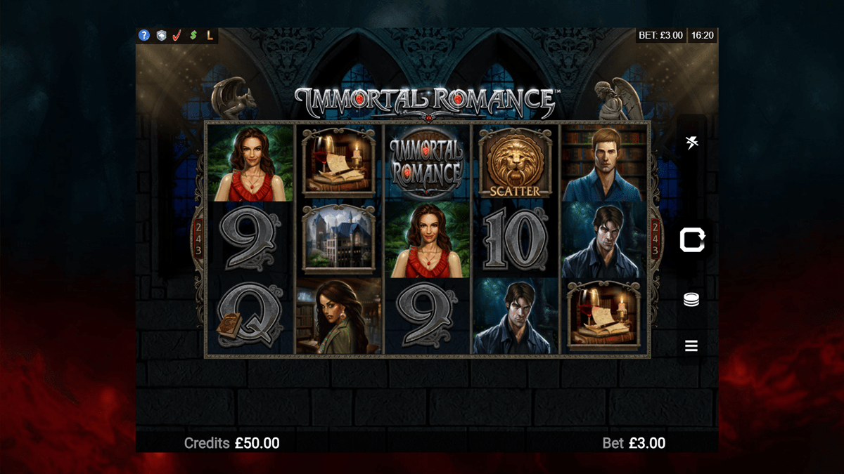 Immortal Romance Slot Review – RTP, Features & Bonuses