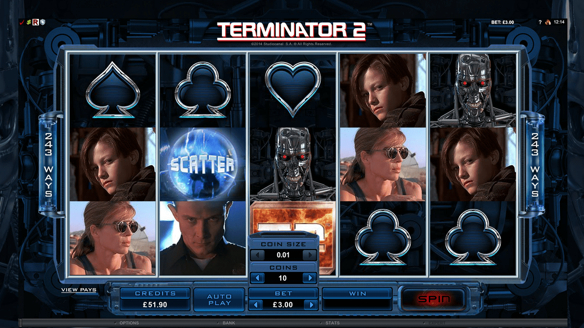Terminator 2 Slot Review – RTP, Features & Bonuses