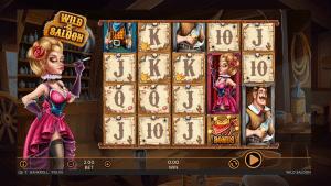 wild saloon slot screenshot