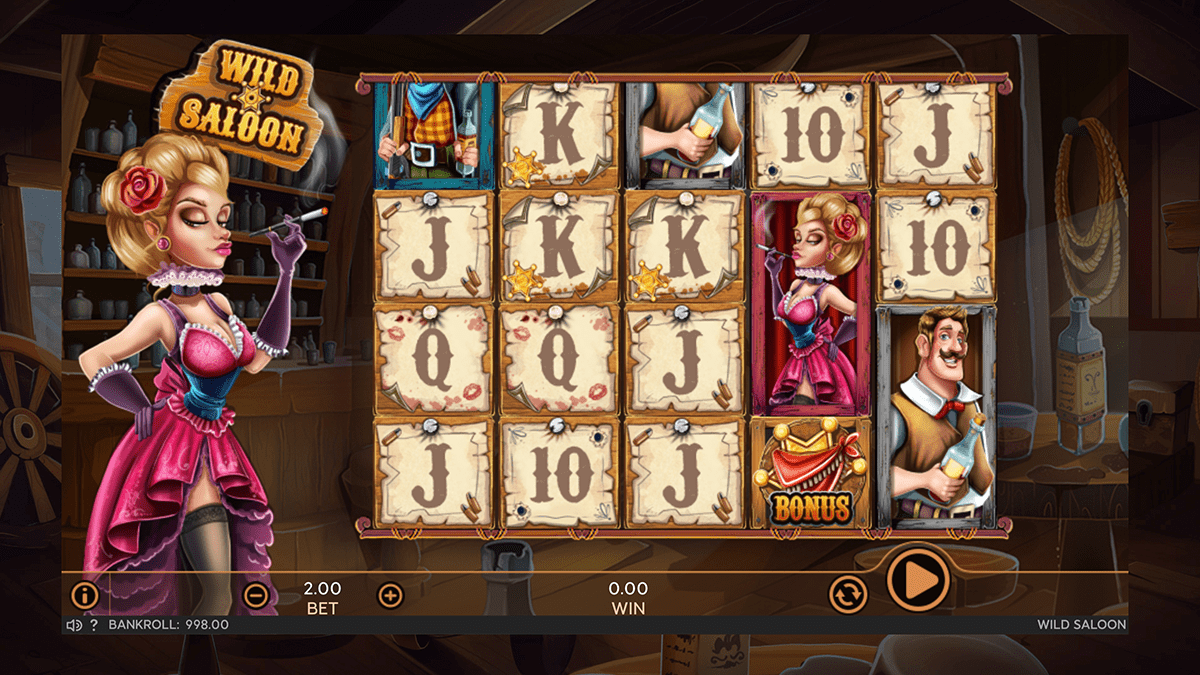 Wild Saloon Slot Review – RTP, Features & Bonuses
