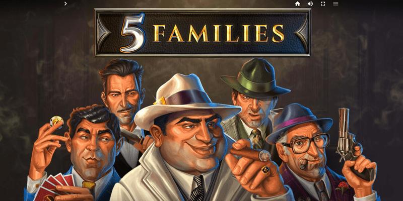 5 Families Slot Review – RTP, Features & Bonuses