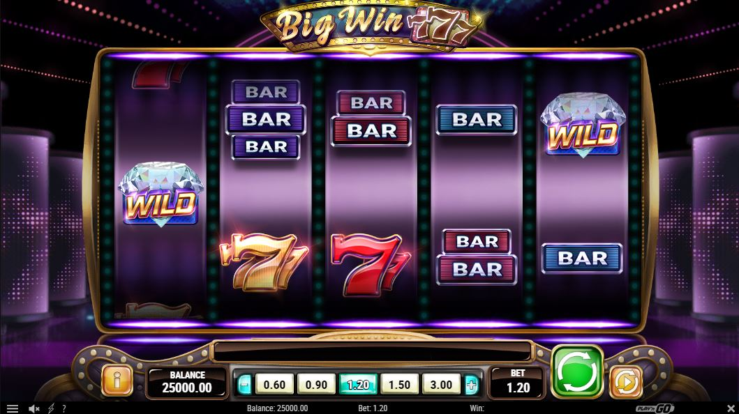 Big Win 777 Gameplay