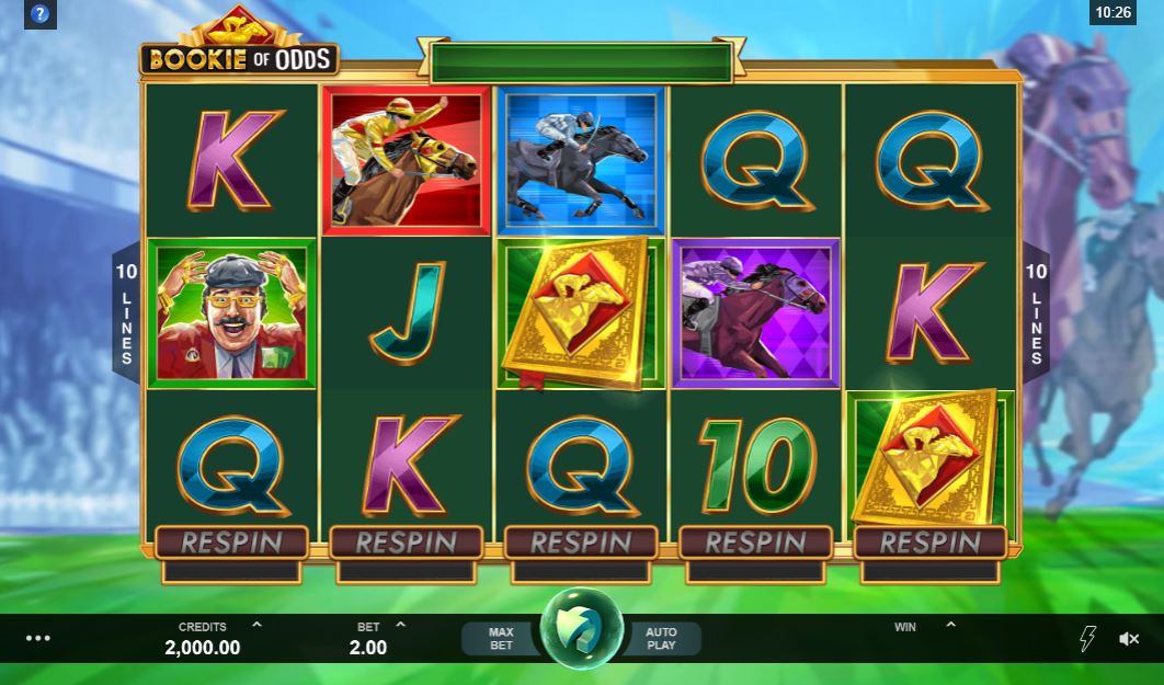 Bookie of Odds Gameplay