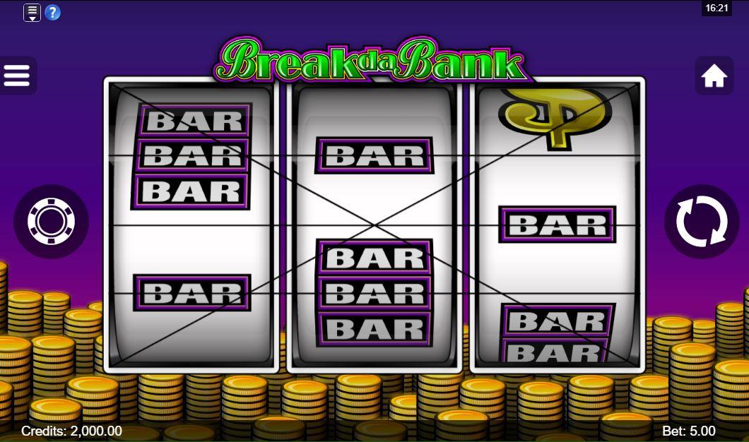Break da Bank Gameplay