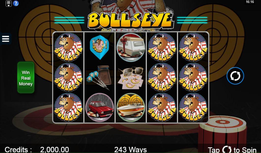 Bullseye slot gameplay