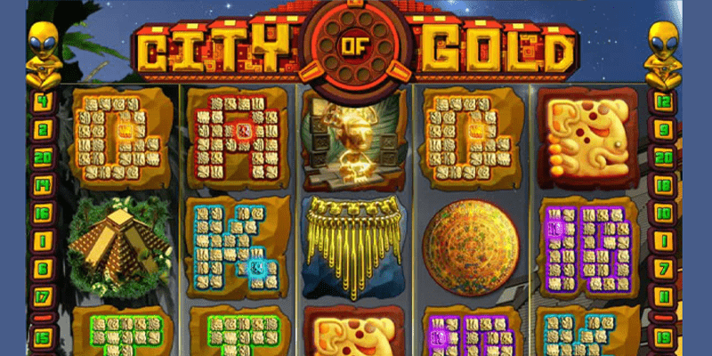 City Of Gold Slot Logo