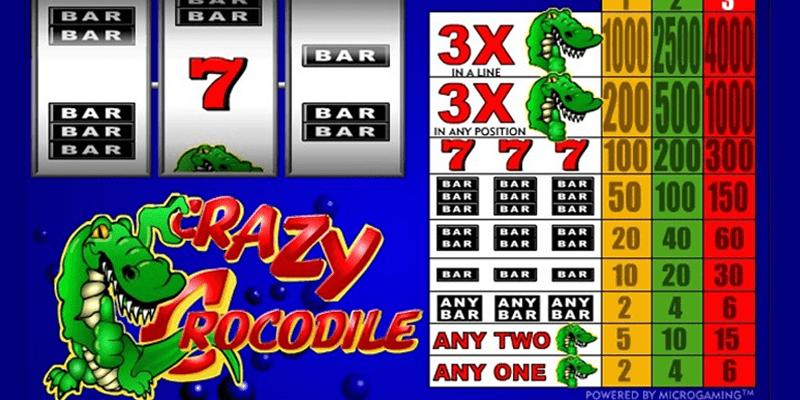 Crazy crocodile slot