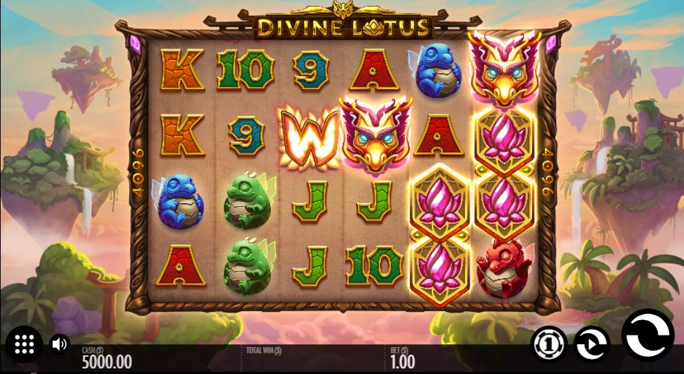 Divine Lotus Gameplay