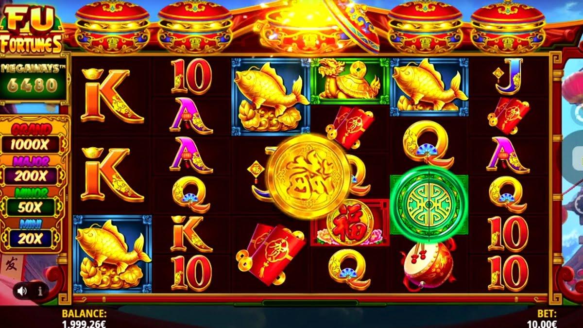 Fu Fortunes Megaways Slot Review – RTP, Features & Bonuses